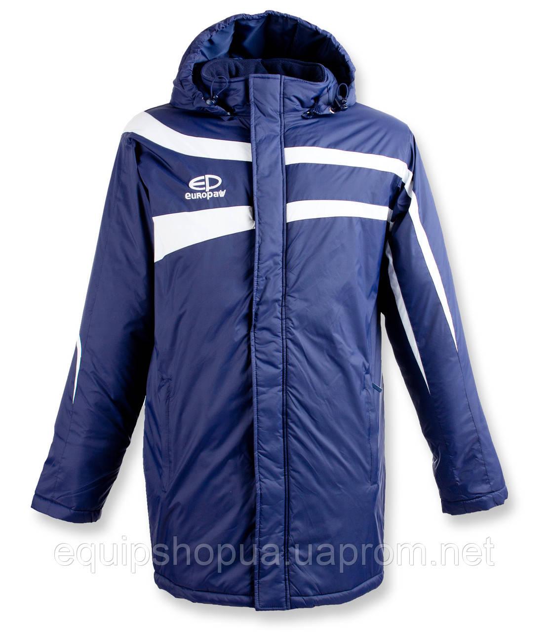 Куртка Зимняя (удлиненная) Europaw TeamLine темно-синяя