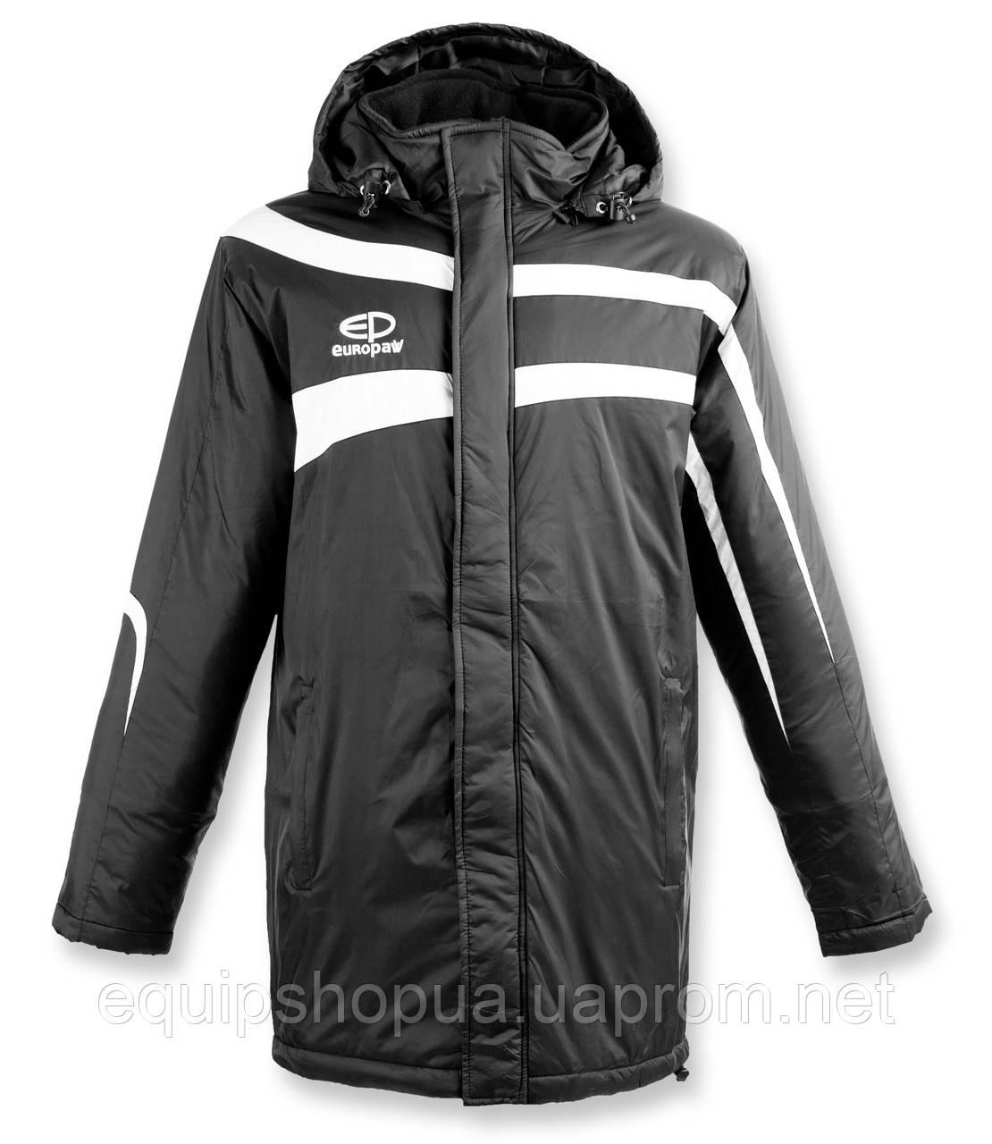 Куртка Зимняя (удлиненная) Europaw TeamLine черная