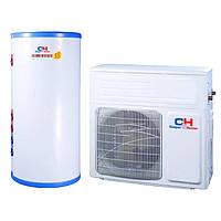 Воздушный тепловой насос для ГВС C&H GRS-C5.0/NbA-K5 кВт моноблок без бака