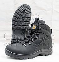 Тактические ботинки ЧЕРНЫЕ нубук на тинсулеи зима