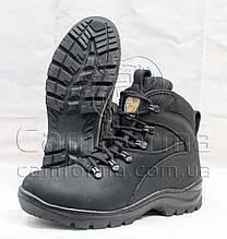Тактичні черевики ПАТРІОТ ЧОРНІ нубук на тинсулеи зима