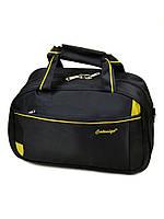 Мужская дорожная сумка саквояж нейлон 17501 18 Small black