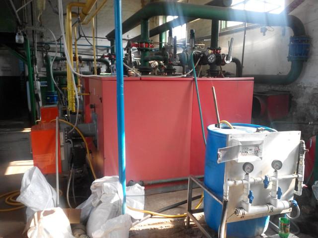 Промывка теплообменников, котлов, систем отопления