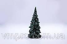 Свечи декоративные, новогодние Елочка, зеленая h-125 мм
