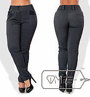 Теплые брюки больших размеров