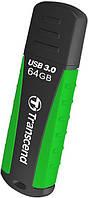 Usb флеш 3.0 transcend jetflash 810 64 gb green (ts64gjf810)