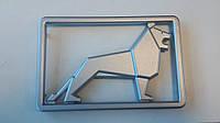 Эмблема емблема шильдик значек львенок ман F2000 90 лев