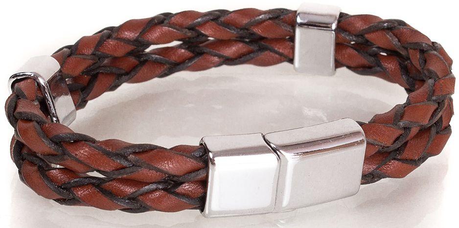 БраслеткожаныйDERIBILEKLIK(ДЕРИБИЛЕКЛИК) SH10046-3, коричневый