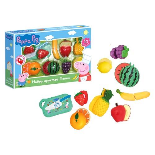 Игровой набор «Peppa Pig» (30220) набор продуктов Пеппы, 10 предметов