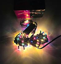 Гирлянда электрическая 100 л (9 режимов, контроллер), фото 3