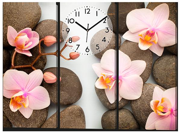 Модульная картина Коралловые орхидеи 91* 70 см Код: w8129