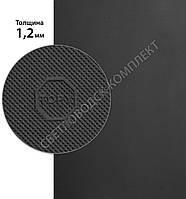 Резина подметочная ТОПИ, TOPY original, р. 400*600*1.2 мм, цв. черный