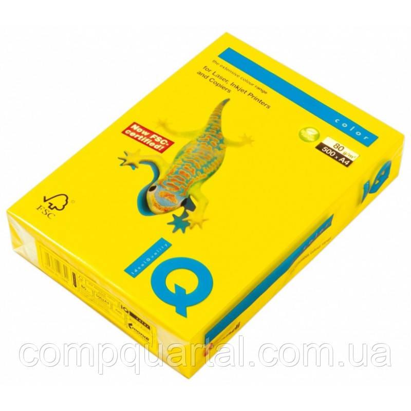 Папір кольоровий 80г/м, А4 100арк. Mondi IQ IG50 (Інтенсивний гірчичний)