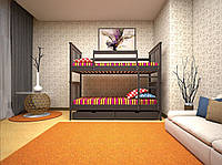 Кровать детская трансформер 4 90х200 (Дуб)