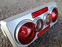 Задние фонари на ВАЗ 2107 серый корпус,3D, фото 1