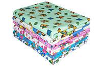 Фланелевые пеленки 90х110 для новорожденных