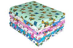 Фланелевая байковая пеленка 90х110 для новорожденных в ассортименте