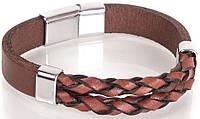 Оригинальный кожаный браслетDERIBILEKLIK(ДЕРИБИЛЕКЛИК) SH10048-2, коричневый