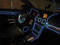 Подсветка панели, обшивки автомобиля - холодный неон 2-го поколения 2,3 мм