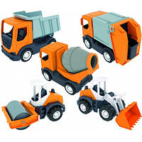 Машинка Wader Middle truck 35360
