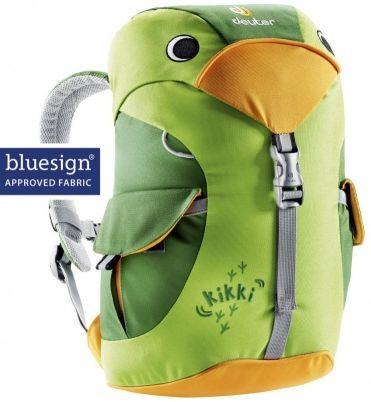 Детский рюкзак в виде попугайчика DEUTER KIKKI, зеленый 6 л