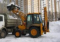 Уборка и вывоз снега, услуги самосвалов и погрузчиков