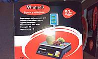 Весы торговые  со стойкой Wimpex до 50 кг