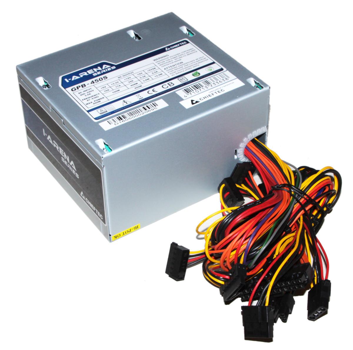 Блок питания Chieftec 500W GPB-450S