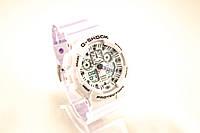 Мужские часы Casio G-Shock GA-100-1A1ER белые + черный (копия бренда)