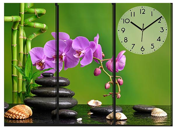 Модульная картина Орхидеи ракушки 94* 70 см Код: w8079