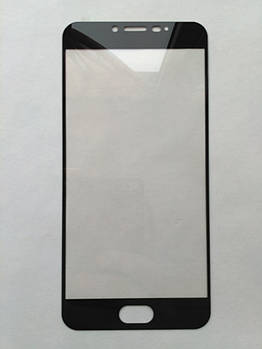 Защитное стекло Mocolo для Meizu U20 с черной рамкой
