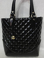 Лаковая женская сумка .