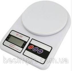 Весы кухонные  SF 400 до 7кг + батарейки