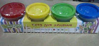Тесто-пластилин 1008А (4цв.по 50гр.), 1008Ф