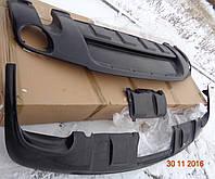 Тюнинг VW Touareg Накладки под бампер