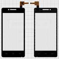 Сенсор (тачскрин) Prestigio MultiPhone 5044 Duo, Pioneer S90W Black