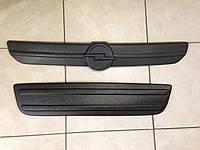Зимняя накладка заглушка защита радиатора Opel Vivaro 2001-2006 компл.
