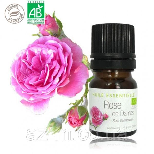 Роза дамасская (Rosa damascena) BIO эфирное масло, 1 мл