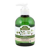 """Нежное мыло  для интимной гигиены """"Зеленая аптека"""" чайное дерево 370 мл"""