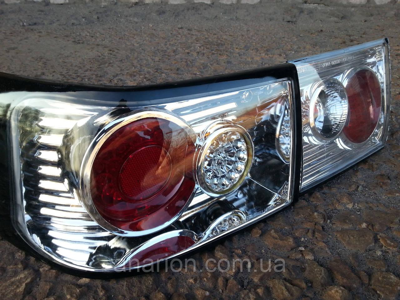 Диодные задние фонари на ВАЗ 2110 модель Лексус