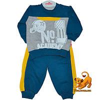 """Комфортный детский костюм """"Number One"""" , трикотаж , для мальчика (68-74-80-86 см)"""