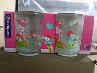 Disney Hello Kitty Nordic Flower Стакан детский - 2 шт Luminarc h5533