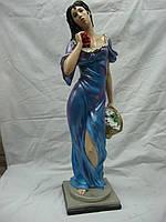 Статуэтка из гипса Дама с корзиной