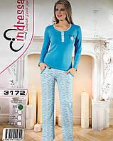 Турецкая пижама норма штаны и кофточка