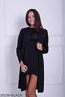 Жіночий літній чорний кардіган Classic Розпродаж!