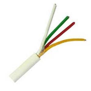 Сигнальний кабель Аlarm cable 4x0.22 (продаж від 5 метрів) екранований