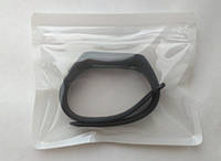 Ремешок браслет для Xiaomi Mi Band 2 черный