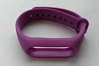 Ремешок браслет для Xiaomi Mi Band 2 фиолетовый