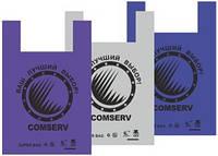 Пакет майка BMW comserv 40*60 цветной 100шт/уп