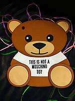 Чехол накладка медведь MOSCHINO для iPad 2/3/4